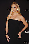 LOS ANGELES, CA - NOVEMBER 07: Actress Reese Witherspoon attends LACMA 2015 Art+Film Gala Honoring James Turrell and Alejandro G Iñárritu, Presented by Gucci at LACMA on November 7, 2015 in Los Angeles, California.
