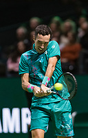 Rotterdam, The Netherlands, 11 Februari 2019, ABNAMRO World Tennis Tournament, Ahoy, first round match: Mikhail Kukushkin (KAZ),<br /> Photo: www.tennisimages.com/Henk Koster