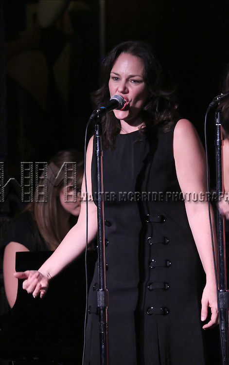 Georgia Stitt  performing at The Lilly Awards Broadway Cabaret at the Cutting Room on October 17, 2016 in New York City.