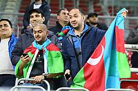 Fans aus Aserbaidschan - 08.10.2017: Deutschland vs. Asabaidschan, WM-Qualifikation Spiel 10, Betzenberg Kaiserslautern