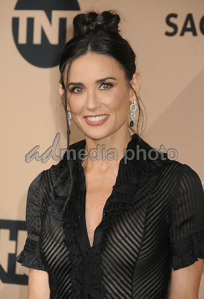 30 January 2016 - Los Angeles, California - Demi Moore. 22nd Annual Screen Actors Guild Awards held at The Shrine Auditorium. Photo Credit: Byron Purvis/AdMedia