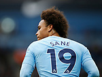 Leroy Sane of Manchester City during the premier league match at the Etihad Stadium, Manchester. Picture date 22nd September 2017. Picture credit should read: Simon Bellis/Sportimage