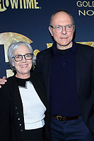 LOS ANGELES - JAN 5:  Wendy Mogel, Michael Tolkin at the Showtime Golden Globe Nominees Celebration at the Sunset Tower Hotel on January 5, 2019 in West Hollywood, CA