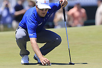 Zach Johnson (USA) on the 8th green during Saturday's Round 3 of the 118th U.S. Open Championship 2018, held at Shinnecock Hills Club, Southampton, New Jersey, USA. 16th June 2018.<br /> Picture: Eoin Clarke | Golffile<br /> <br /> <br /> All photos usage must carry mandatory copyright credit (&copy; Golffile | Eoin Clarke)
