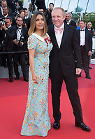 Salma Hayek &amp; Francois-Henri Pinault at the 70th Anniversary Gala for the Festival de Cannes, Cannes, France. 23 May 2017<br /> Picture: Paul Smith/Featureflash/SilverHub 0208 004 5359 sales@silverhubmedia.com