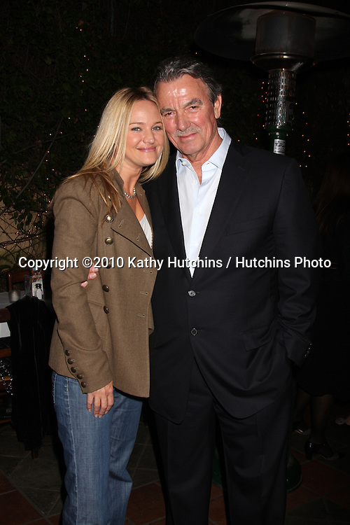 Sharon Case, Eric Braeden.at the Eric Braeden's 30th Anniversary on The Young & The Restless Cocktail Reception .Pane e Vino Resturant.Los Angeles, CA.February 3, 2010.©2010 Kathy Hutchins / Hutchins Photo..Publicist & Braeden Approved....