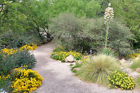 Pathway in Tucson Botanical Gardens. Tucson. Arizona