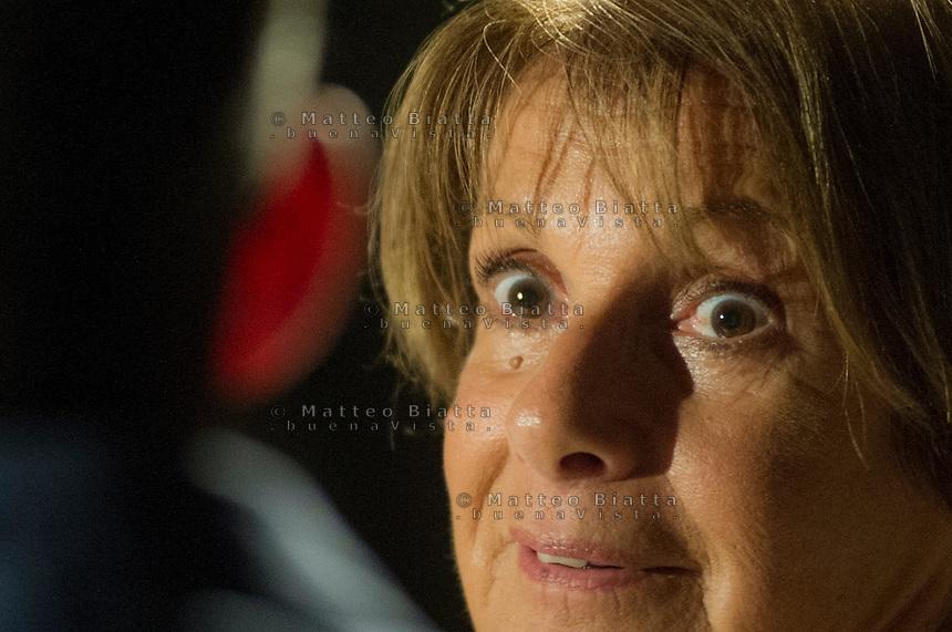 LELLA COSTA - PRESENTAZIONE DEL SUO LIBRO &quot;CHE BELLO ESSERE NOI&quot; NELLA FOTO LELLA COSTA SPETTACOLI BRESCIA 16/10/2015 FOTO MATTEO BIATTA<br /> <br /> LELLA COSTA - PRESENTATION OF HER BOOK &quot;CHE BELLO ESSERE NOI&quot; IN THE PICTURE LELLA COSTA SHOW BRESCIA 16/10/2015 PHOTO BY MATTEO BIATTA