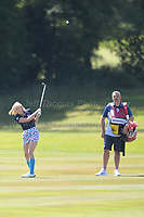 Television and radio presenter Jenni Falconer during the Bulmers 2018 Celebrity Cup at the Celtic Manor Resort. Newport, Gwent,  Wales, on Saturday 30th June 2018<br /> <br /> <br /> Jeff Thomas Photography -  www.jaypics.photoshelter.com - <br /> e-mail swansea1001@hotmail.co.uk -<br /> Mob: 07837 386244 -