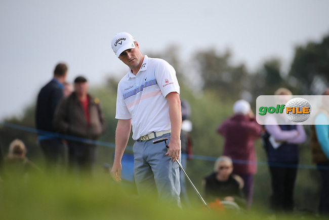 Marc Warren (SCO) in action during Round Three at the The British Masters 2016, at The Grove, Hertfordshire, England. 15/10/2016. Picture: David Lloyd | Golffile.