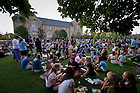 2010 Opening Picnic on the DeBartolo Quad..Photo by Matt Cashore/University of Notre Dame