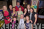 Surprise Party: Templeglatine man, Dennis O'Connor celebrated a surprise 60th birthday party last Friday night in Matt McCoy's Bar, Abbeyfeale. F l-r: Kate Lane, Dennis O'Connor, Mary Lane. B l-r: Theresa O'Sullivan, Tommy Mann, Mary Brown, Mike Grady, Mary Ann Relihan, Joanne Sheehy, Patricia Waters, Julianne O'Sullivan.