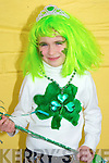 Helping out in the Ballyheigue St patricks Day parade on Monday was Sally May O'Hara. ....   Copyright Kerry's Eye 2008