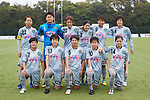 NTV Beleza team group line-up, <br /> SEPTEMBER 17, 2017 - Football / Soccer : <br /> 2017 Plenus Nadeshiko League Division 1 match <br /> between JEF United Ichihara Chiba Ladies 0-1 NTV Beleza <br /> at Frontier Soccer Field in Chiba, Japan. <br /> (Photo by AFLO SPORT)