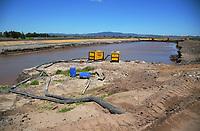 Kaituna River re-diversion / Maketu Estuary Enhancement project in Bay Of Plenty, New Zealand on Tuesday, 18 December 2018. Photo: Dave Lintott / lintottphoto.co.nz