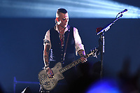 The Hollywood Vampires, Johnny Depp<br /> performing at Olympic stadium. Moscow, Russia on May 28, 2018.<br /> **Not for sale in Russia or FSU**<br /> CAP/PER/EN<br /> &copy;EN/PER/Capital Picturess