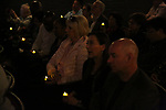 """Audience during """"Miracle in Rwanda"""" honoring International Day of Reflection on the 1994 Genocide against the Tutsi in Rwanda at the Lion Theatre on Theater Row on April 7, 2019 in New York City."""