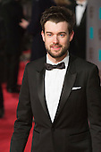 London, UK. 14 February 2016. Comedian and TV presenter Jack Whitehall. Red carpet arrivals for the 69th EE British Academy Film Awards, BAFTAs, at the Royal Opera House. © Vibrant Pictures/Alamy Live News