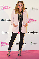 Carmen Morales<br /> Corte Ingles Superstore lights with pink the Serrano superstore joins with the AECC, Spanish Association against Cancer. In Madrid on October 10, 2017.