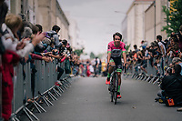 Rigoberto Uran (COL/Cannondale-Drapac at the Team presentation in La Roche-sur-Yon<br /> <br /> Le Grand D&eacute;part 2018<br /> 105th Tour de France 2018<br /> &copy;kramon