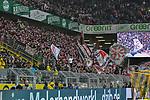 09.03.2019, Signal Iduna Park, Dortmund, GER, DFL, 1. BL, Borussia Dortmund vs VfB Stuttgart, DFL regulations prohibit any use of photographs as image sequences and/or quasi-video<br /> <br /> im Bild Fankurve / Fans / Fanblock / von Stuttgart<br /> <br /> Foto &copy; nph/Mauelshagen