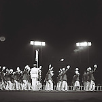 Japan team group, <br /> OCTOBER 24, 1964 - Closing Ceremony : Japan team members wave to the crowd during the Closing Ceremony of 1964 Tokyo Olympic Games at National Stadium in Tokyo, Japan.<br /> (Photo by Shinichi Yamada/AFLO) [0348]
