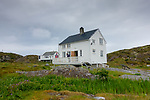 The fishing village of Smøla, Norway, Europe