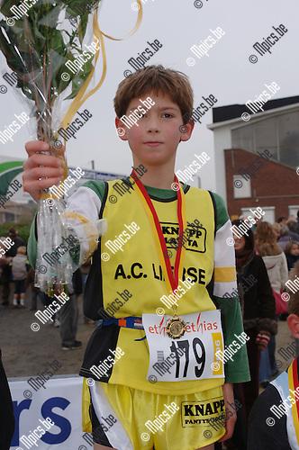 Veldloop Duffel, Heren Benjamins '97: Cedric Goffin won - Lier 015/236288