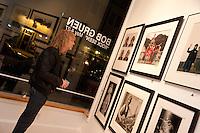 "David Bryan of Bon Jovi at the Bob Gruen ""Rock Seen"" photo exhibition at Art629 in New York City. May 4, 2012. ©Kristen Driscoll/MediaPunch Inc."