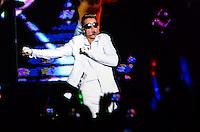 RIO DE JANEIRO, RJ, 03.11.2013 - SHOW JUSTIN BIEBER / RJ - Cantor canadense Justin Bieber durante show na Praça da Apoteose, regiao norte da cidade do Rio de Janeiro na noite deste domingo,03. (Foto: Marcelo Fonseca / Brazil Photo Press).