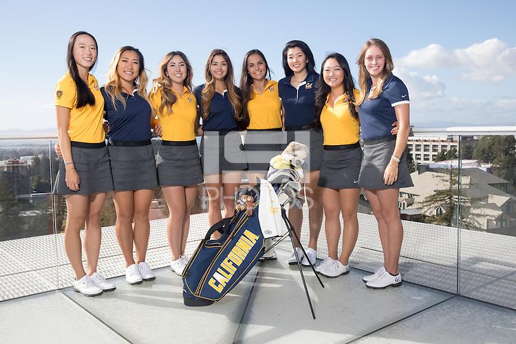BERKELEY, CA - November 1, 2016: Cal Women's Golf Team