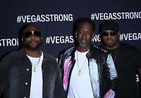01 December 2017 - Las Vegas, NV -  Boyz II Men.  Vegas Strong Benefit Concert Red Carpet Arrivals at T Mobile Arena. Photo Credit: MJT/AdMedia
