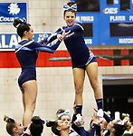 WATERBURY CT. 16 February 2018-021619SV15-Oxford High competes in the NVL Cheerleading Championship at Crosby High School in Waterbury Saturday.<br /> Steven Valenti Republican-American