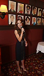 Laura Osnes performs during the William Ivey Long Sardi's portrait unveiling and 70th Birthday Party at Sardi's Restaurant on August 30, 2017 in New York City.