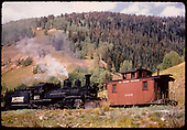 RGS #461 K-27 with caboose #0400.<br /> RGS