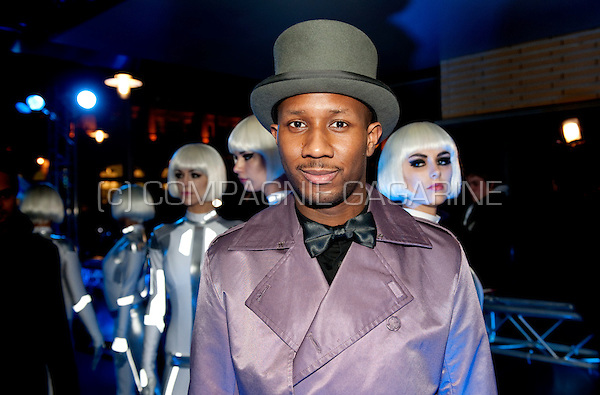 Dutch rapper Dio at Disney's Tron Legacy movie première in Amsterdam at the Pathé City Theatre (Holland, 12/01/2011)