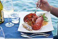 Restaurant Scoglitti - Fettucine with Lobster, Valletta, Malta
