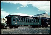 Passenger coach #284 - Durango.<br /> D&amp;RGW  Durango, CO