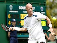 28-6-06,England, London, Wimbledon, first round match, Melle van Gemerden
