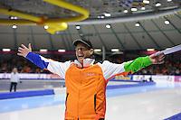 SCHAATSEN: HEERENVEEN: Thialf, Finale World Cup, 04-060311, coach Jillert Anema NED, ©foto: Martin de Jong