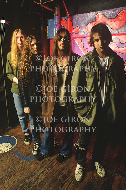 Various portrait sessions of the rock band, Monster Magnet
