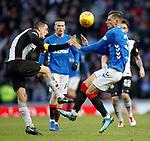 02.02.2019: Rangers v St Mirren: Stephen McGinn and Borna Barisic