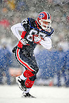 3 January 2010: Buffalo Bills' tight end Joe Klopfenstein in action against the Indianapolis Colts during a cold, snowy, final game of the season at Ralph Wilson Stadium in Orchard Park, New York. The Bills defeated the Colts 30-7. Mandatory Credit: Ed Wolfstein Photo