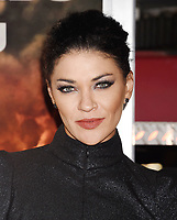 WESTWOOD, CA - OCTOBER 08: Actress Jessica Szohr arrives at the Premiere Of Columbia Pictures' 'Only The Brave' at Regency Village Theatre on October 8, 2017 in Westwood, California.<br /> CAP/ROT/TM<br /> &copy;TM/ROT/Capital Pictures