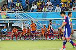 Japan team group (JPN), <br /> JUNE 19, 2014 - Football /Soccer : <br /> 2014 FIFA World Cup Brazil <br /> Group Match -Group C- <br /> between Japan 0-0 Greece <br /> at Estadio das Dunas, Natal, Brazil. <br /> (Photo by YUTAKA/AFLO SPORT)