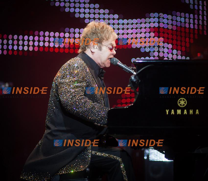 Elton John in concerto <br /> Salisburgo 19.06.2013  Arena <br /> Foto Juergen Feichter / Expa / Insidefoto