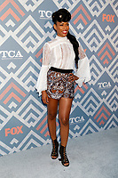 LOS ANGELES - AUG 8:  Angela Lewis at the FOX TCA Summer 2017 Party at the Soho House on August 8, 2017 in West Hollywood, CA