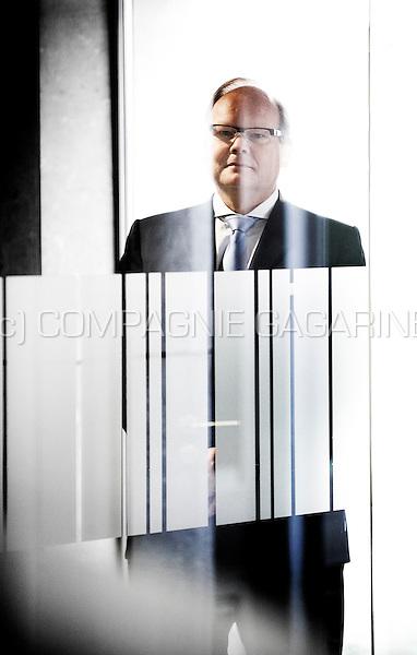 Victor Van Der Kwast, Country Executive Belgium and CEO Belgium PBI at ABN AMRO Bank N.V (Belgium, 24/08/2012)