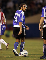 10 September 2005:  Dwayne De Rosario of the Earthquakes in action against CD Chivas USA at Spartan Stadium in San Jose, California.    San Jose Earthquakes defeated CD Chivas USA, 3-0.