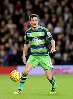 Jack Cork of Swansea City during the Barclays Premier League match between West Bromwich Albion and Swansea City at The Hawthorns on the 2nd of February 2016